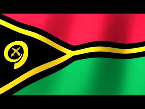 Flag of Vanuatu - Flag blong Vanuatu - Drapeau du Vanuatu
