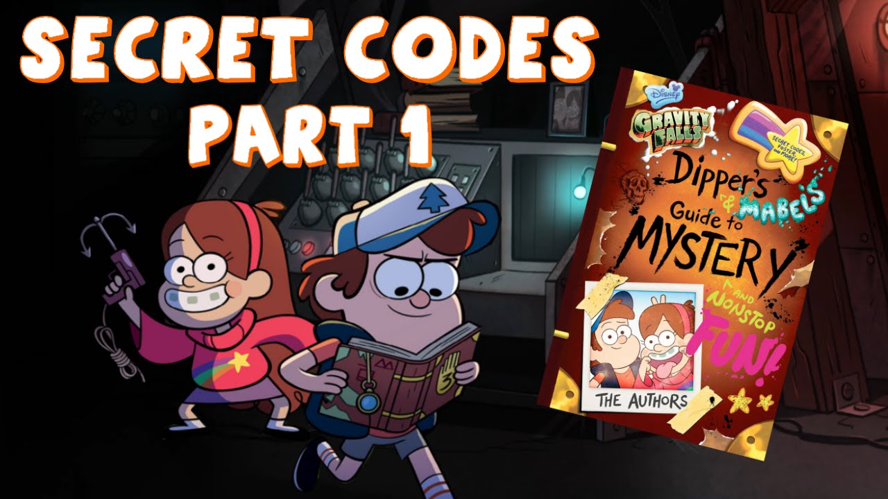 gravity falls dippers guide to mystery secret codes