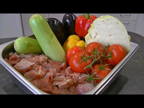 Блюдо покорившее весь Мир! Мясо с овощами в казане. На костре.