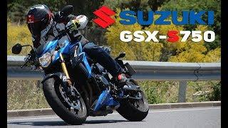 suzuki gsx s750 2017 prueba a fondo full hd
