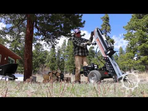 Dirty Hand Tools 28-ton Log Splitter