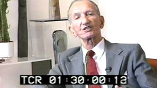 "Jan Karski: ""They poisoned the minds"""