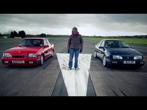 Vauxhall Cavalier Vs Ford Sierra - James May's Cars Of The People - BBC Brit