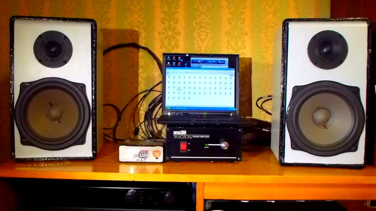 Enjoy audiophile class sound from laptop
