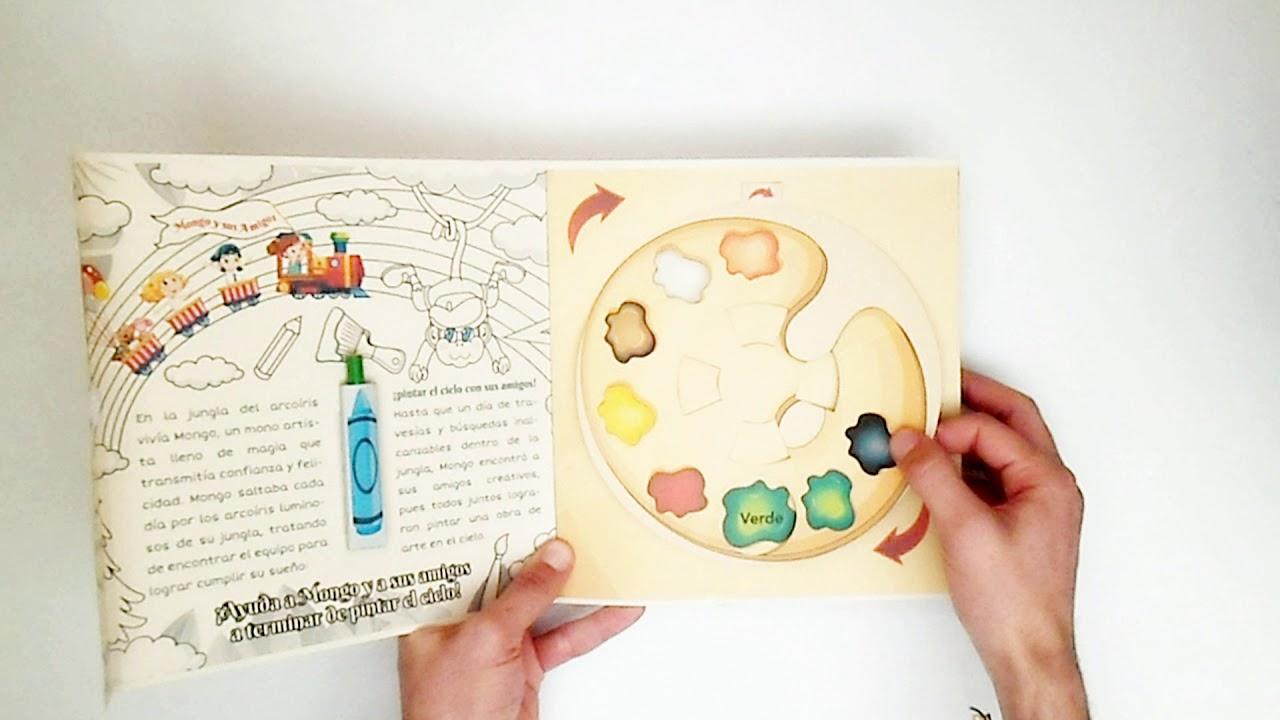 Libro Infantil Pop Up - Libro Arte Para Niños - DESCARGAR PLANTILLA ...