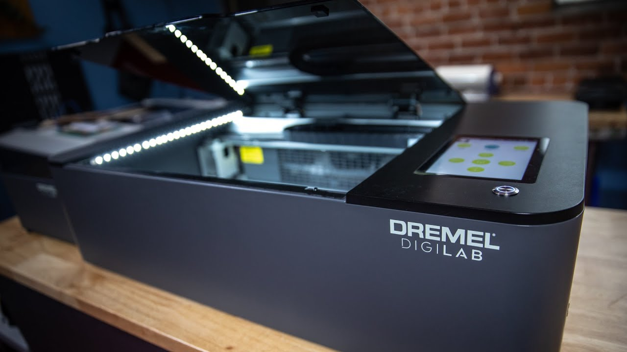 Tested: Dremel Digilab LC40 Laser Cutter - Tested