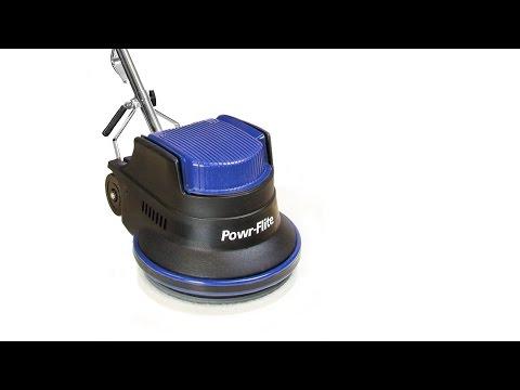 "Powr-Flite 17"" Millennium Edition Floor Machine Introduction"