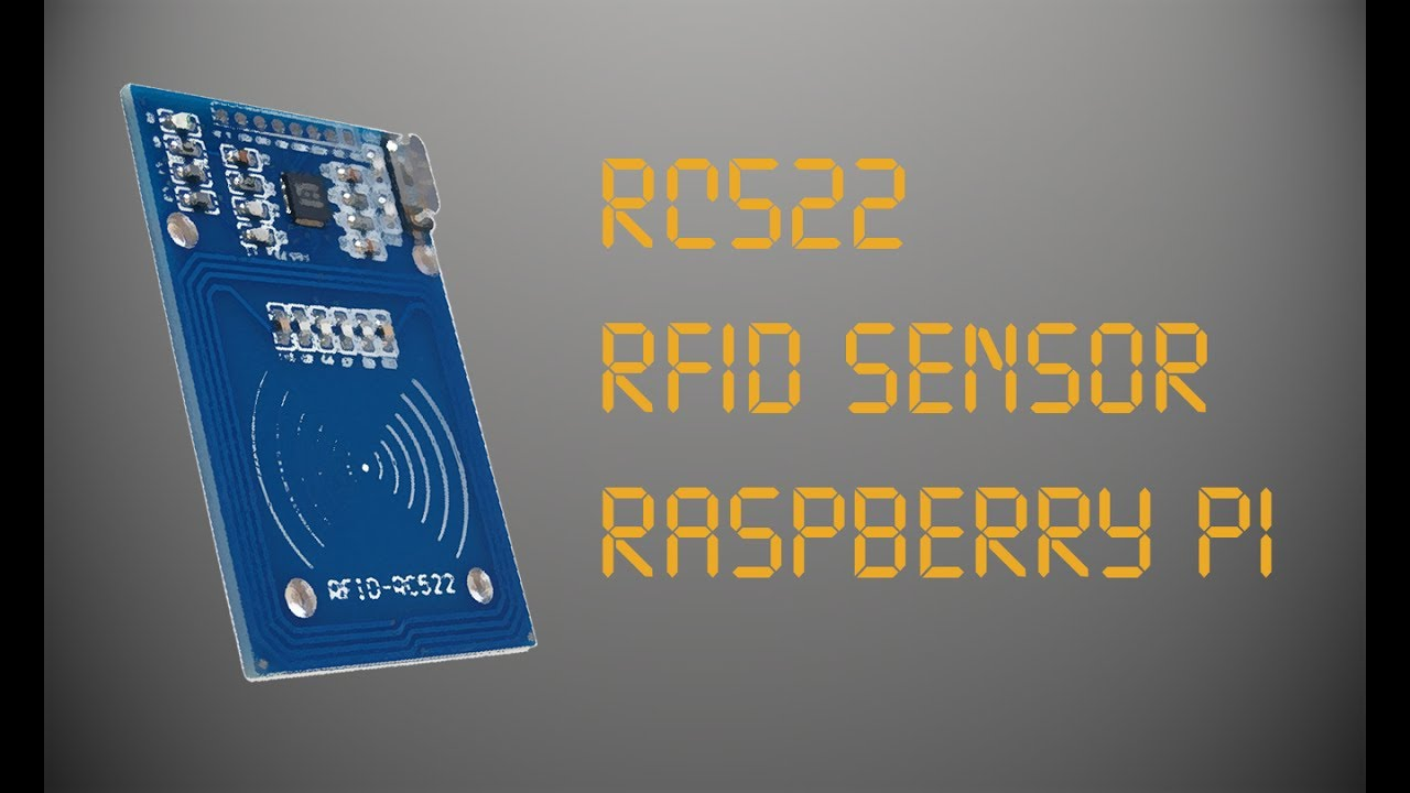 RFID RC522 (Raspberry Pi): 4 Steps