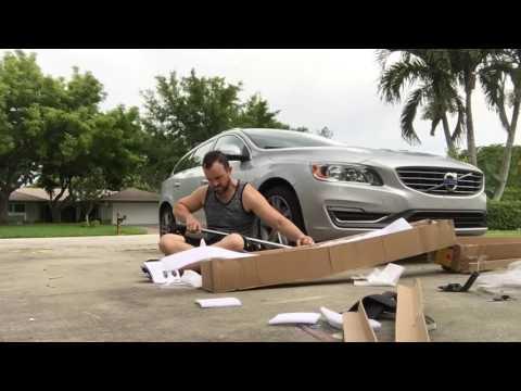 Volvo V60 Roof Rack Install