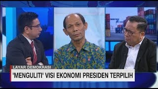 'Menguliti' Visi Ekonomi Presiden Terpilih #LayarDemokrasi