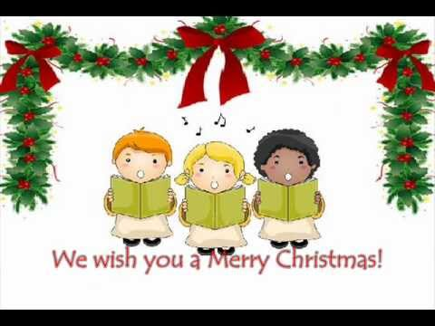 We wish you a Merry Christmas (with lyrics)