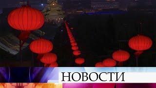 В Китае в Запретном городе разрешили провести новогодние мероприятия впервые за 100 лет.