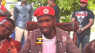 BOBI WINE TO MUSEVENI - YOU WILL GO LIKE BASHIR OF SUDAN PEOPLE POWER WILL WIN OVER PEOPLE IN POWER.