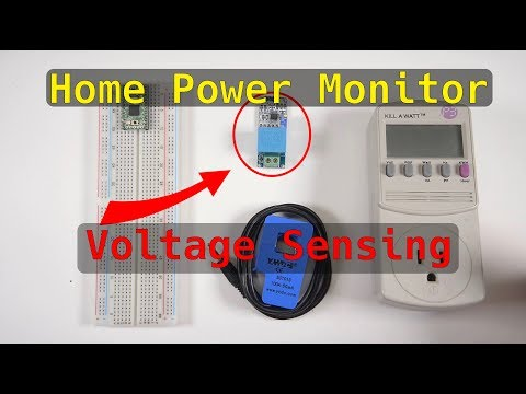 Home Energy Monitor Project: Voltage