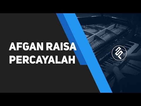 Percayalah - Afgan feat Raisa (Piano Cover HD   CHORD LIRIK synthesia by fxpiano)