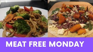 MEAT FREE MONDAY: TWO HEALTHY VEGETARIAN MEAL IDEAS