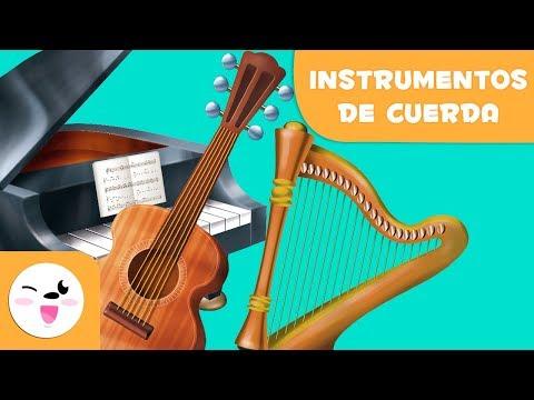 Los instrumentos de cuerda para niños - Aprende música