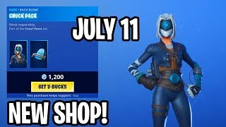 *NEW* JULY 11 ITEM SHOP!! FOCUS SKIN + FIXATION PICKAXE! - Fortnite Daily Update