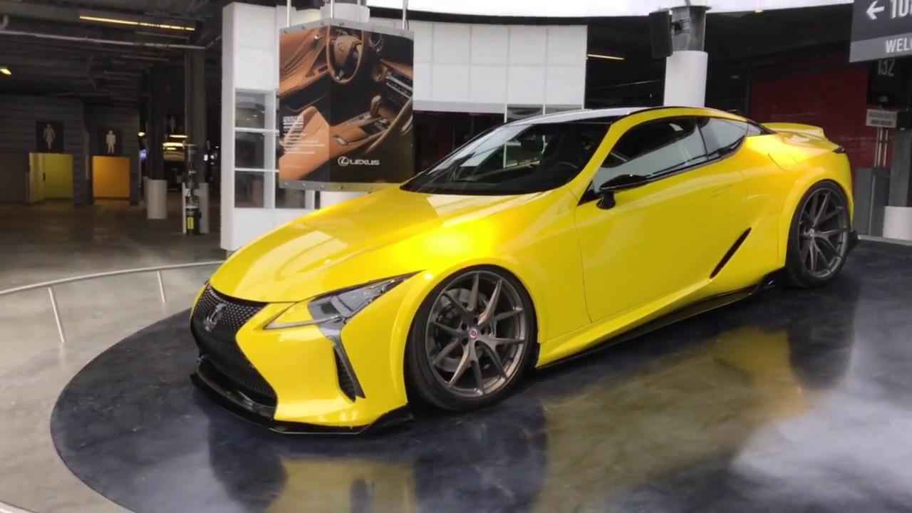 Modified Yellow 2018 Lexus Lc 500 2017 Rolex 24 Beyond Markting