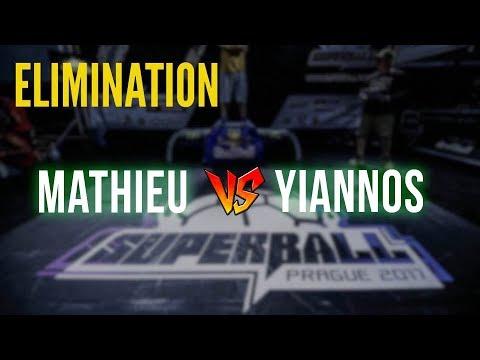 Mathieu v Yiannos - Elimination Extra Battles | Super Ball 2017