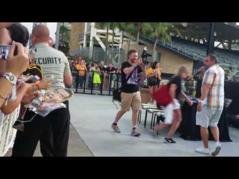 Impractical jokers at Petco Park San Diego