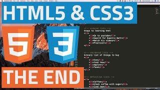 Gambar cover HTML5 and CSS3 beginner tutorial 44 - Final Video