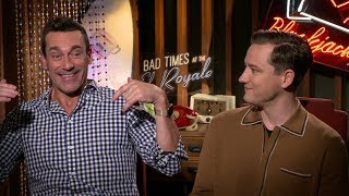Bad Times at the El Royale interview: Jon Hamm & Lewis Pullman