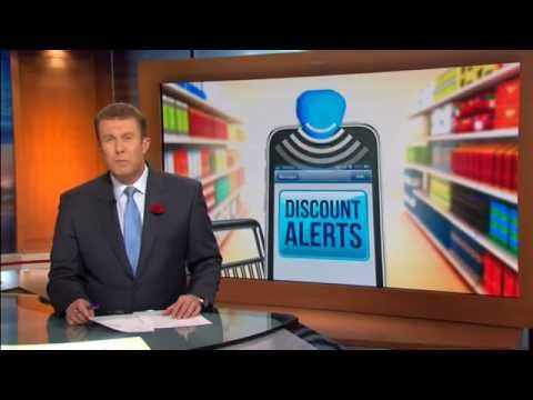 9 News discusses supermarket beacon technology - Brian Walker comments