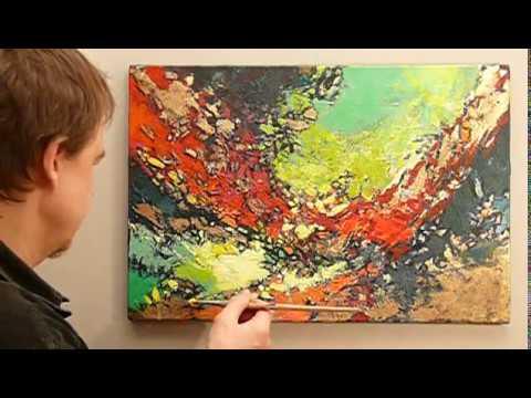 Jak Namalować Obraz Farbami Akrylowymi Maluj Sama Abstrakcja
