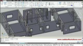 Autocad 3d House Modeling Tutorial - 2 | 3d Home Design | 3d Building | 3d Floor Plan | 3d Room