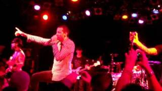 """Chester  Bennington  """"Bullet W/Butterfly Wings"""" (rat in a cage) 90's Camp Freddy 12-18-09"""