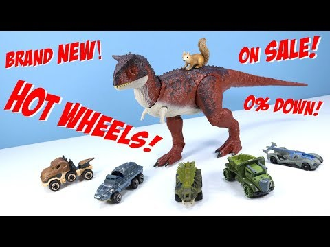 Jurassic World Fallen Kingdom Carnotaurus Hot Wheels Character Car Collection