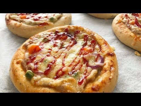 Mini Tuna Pizza - Resepi Dough Gebu & Senang