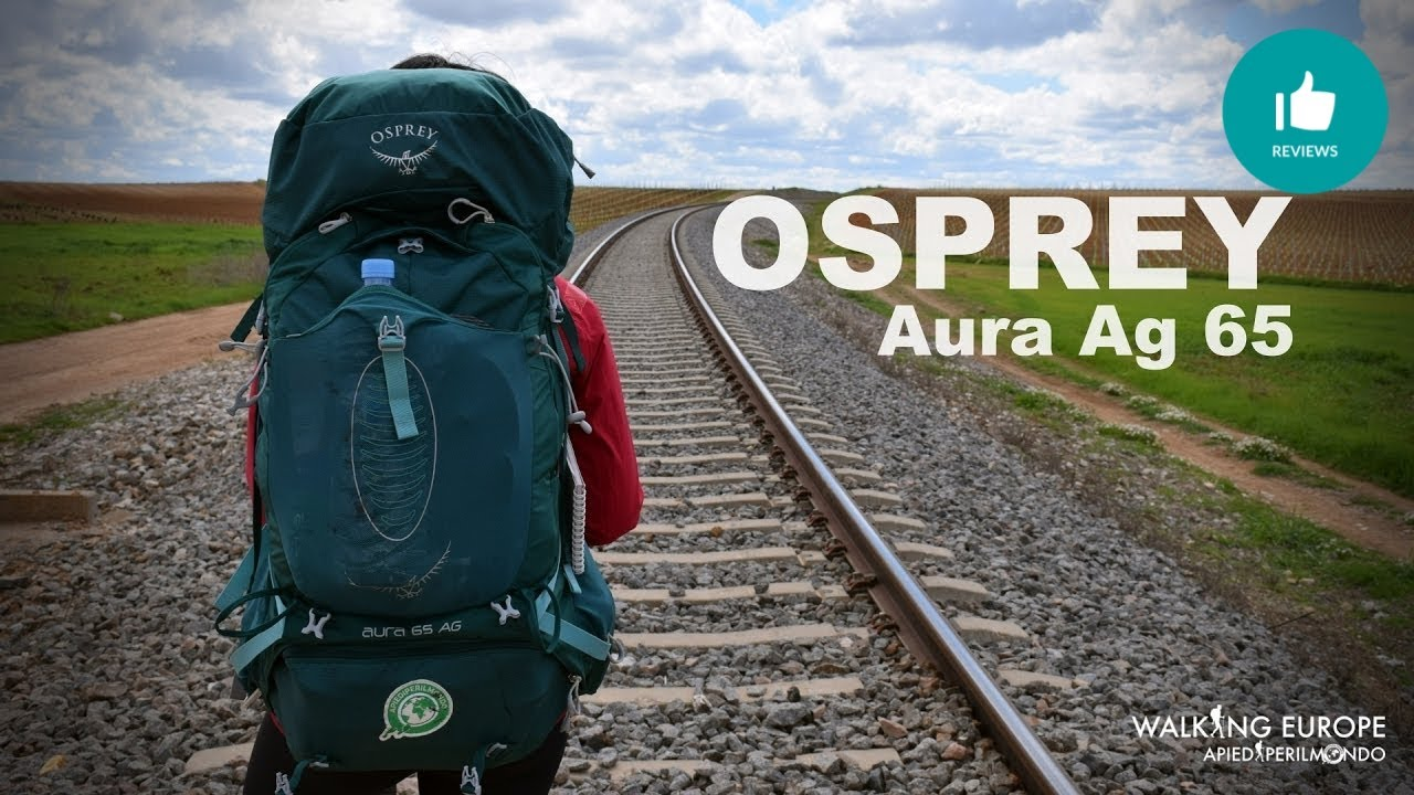 e92f551cc Osprey Aura Ag 65 - YouTube