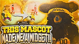 THIS MASCOT MADE ME A MIDGET! THE REAL TRUTH ABOUT MASCOTS IN NBA 2K19 PARK... MASCOT GAMEPLAY