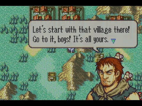 Fire Emblem The Sacred Stones Playthrough: Part 3 - NOW there's Bandits!