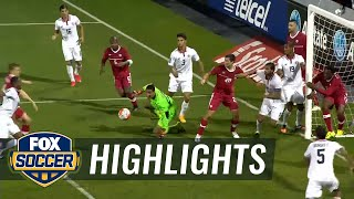 Canada vs. Costa Rica - 2015 CONCACAF Gold Cup Highlights