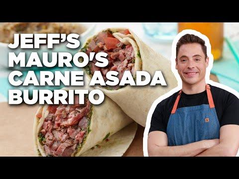 How to Make Jeff Mauro's Carne Asada Burrito | Food Network