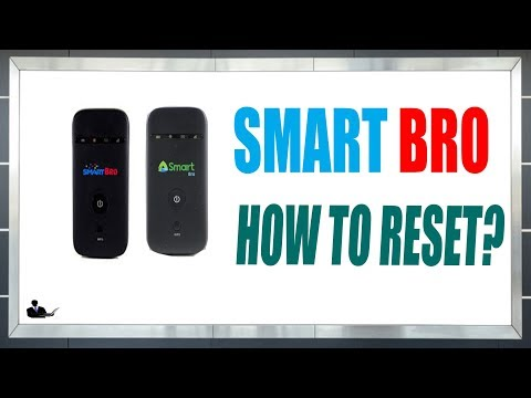 How To Reset Smart Bro Pocket  Wi-Fi? LTE/4G SMARBRO UPGRADED 2019