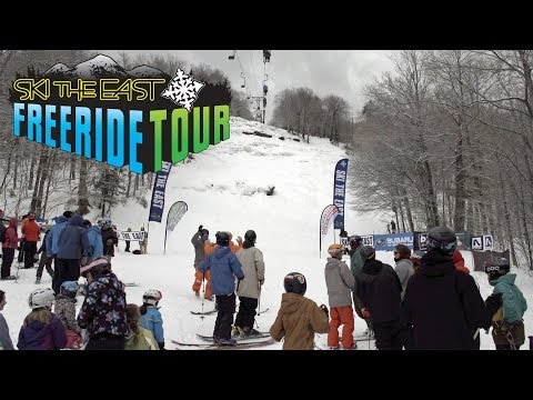 Ski The East Freeride Tour 2014: Stop 1 - Mad River Glen