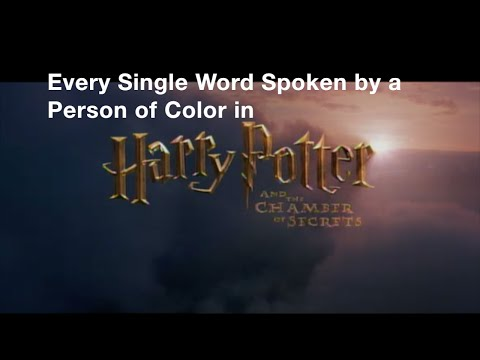 Every Single Word Spoken by a Person of Color in