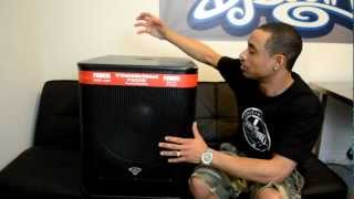 Cerwin-Vega P1800SX P-Series 18-inch Powered Active Subwoofer Review