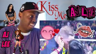 A J Lee's Kisses In WWE REACTION!!!