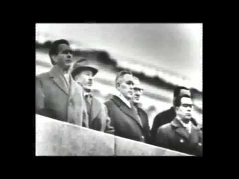 Soviet Anthem 1963 October Revolution Parade