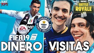 5 RECORDS GUINESS De Videojuegos Que Nadie Podra Superar | Fortnite, FIFA 19, RDR2