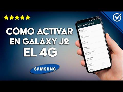 Cómo Activar en el Galaxy J2 y J2 Prime el 4G paso a paso