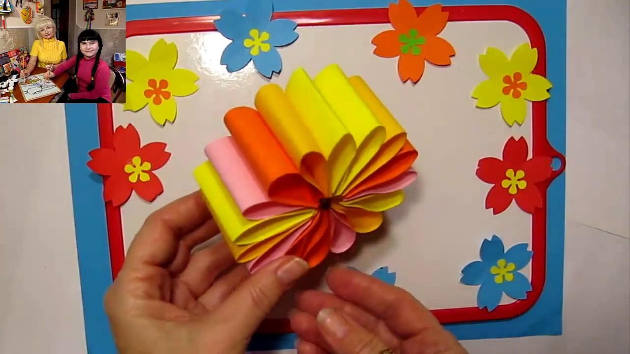 Поделки дети своими руками для дома из бумаги