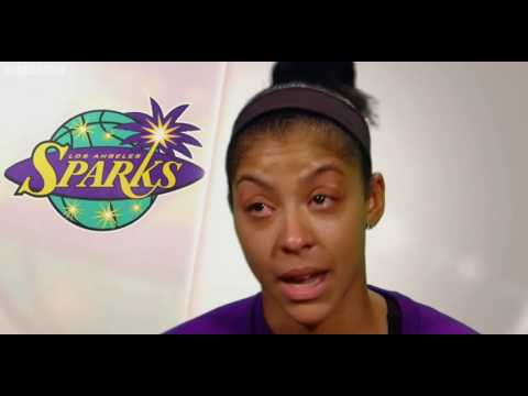 Candace Parker on Pat Summitt in Halftime Interview.