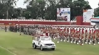 Bhopal: Full dress rehearsal of Independence Day parade held at Motilal Nehru Stadium