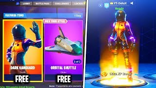 Comment obtenir la peau dark Vanguard GRATUIT! Fortnite Battle Royale NOUVEAU Skins GRATUIT!